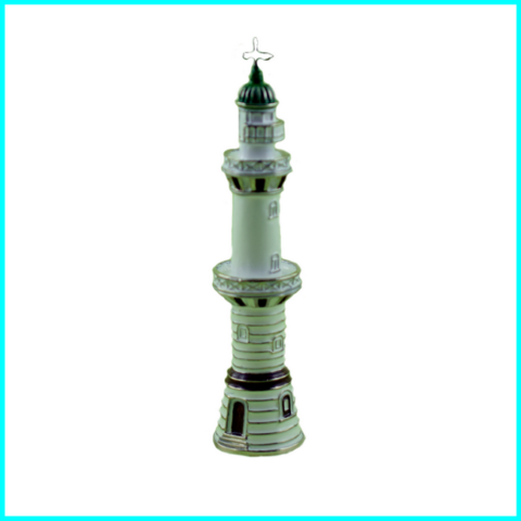 miniatur-metall-leuchtturm warnemünde