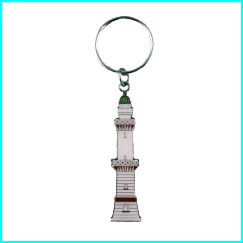 schlüsselanhänger-metall-geprägt-leuchtturm-warnemünde