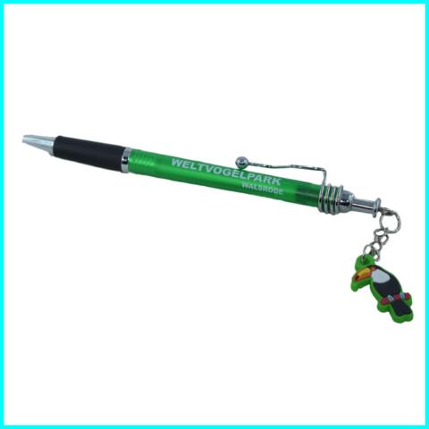 kugelschreiber mit anhänger-tukan-pvc